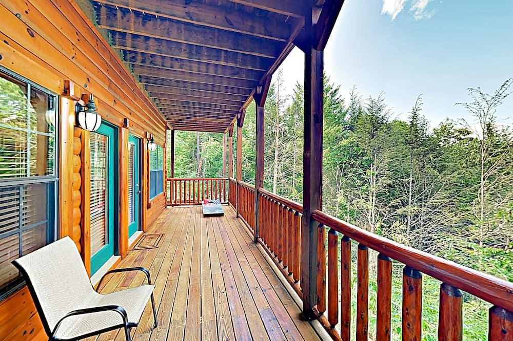 Ferienhütte, Mehrere Schlafzimmer - Balkon