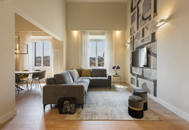 Porta Rossa Exclusive, Florence, Apartment, 4 Bedrooms, Living Area