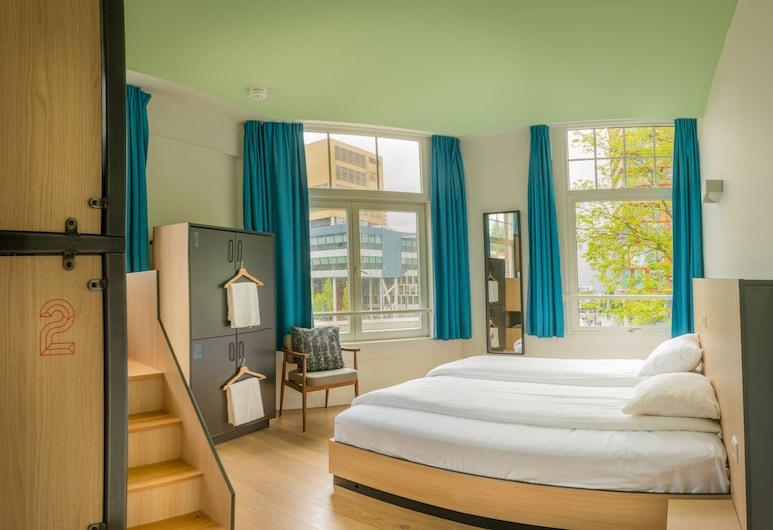 Sparks Hostel, Rotterdam, Rodinná štvorposteľová izba, 1 spálňa, Hosťovská izba