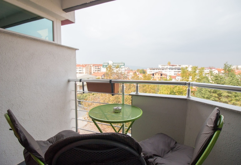 Fantastik Apartments, Ohrid, Chambre Triple Standard (17), Balcon