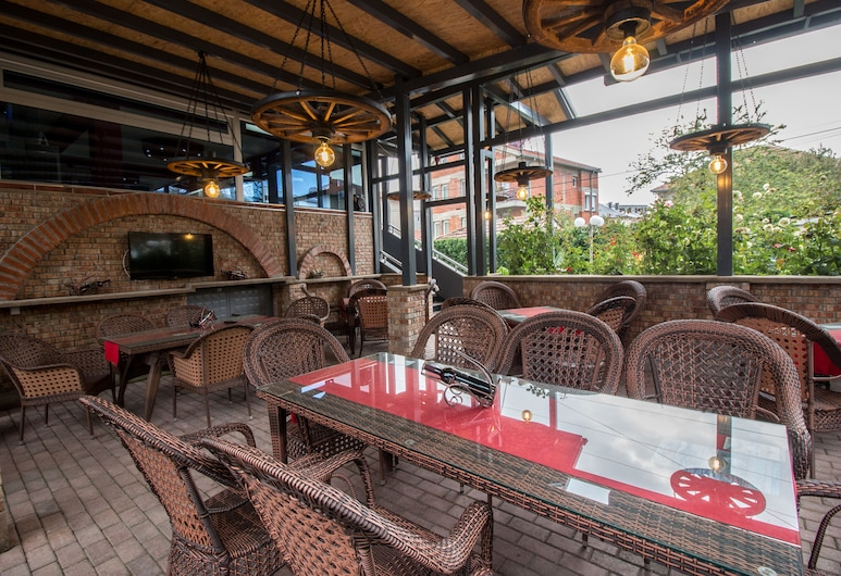 Fantastik Apartments, Ohrid, מרפסת/פטיו