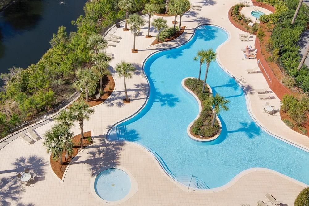 獨棟房屋, 1 張特大雙人床 (Luau 6321) - 游泳池