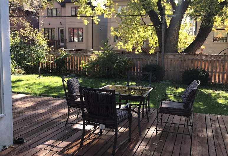 Parkview House, Toronto, Terrasse/patio