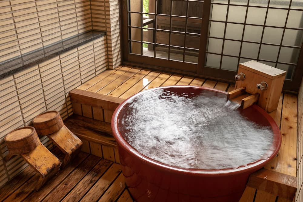 Traditional-huone (Japanese Style, (Bed)) - Kylpyhuone