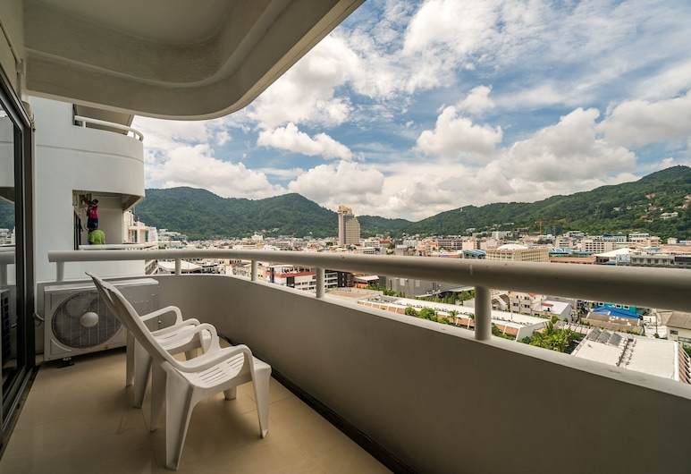 Patong Tower by Lofty, Patong, Family Apartment, Balcony