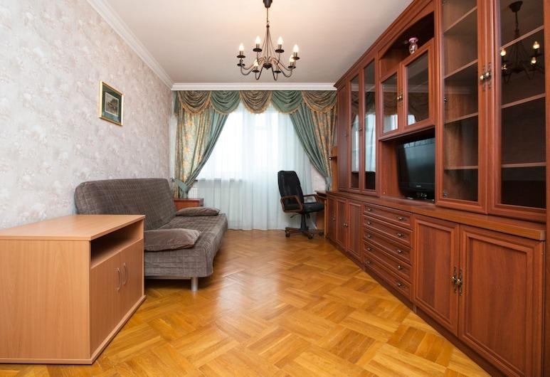 Brusnika Apartments Akademicheskaya, Moscow, Apartmán, Obývačka