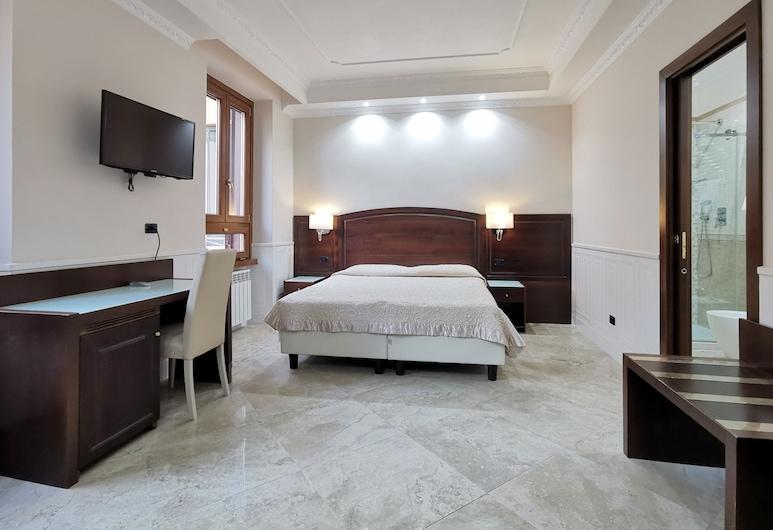瓦倫蒂諾皇宮酒店, 羅馬, 高級雙人或雙床房, 客房