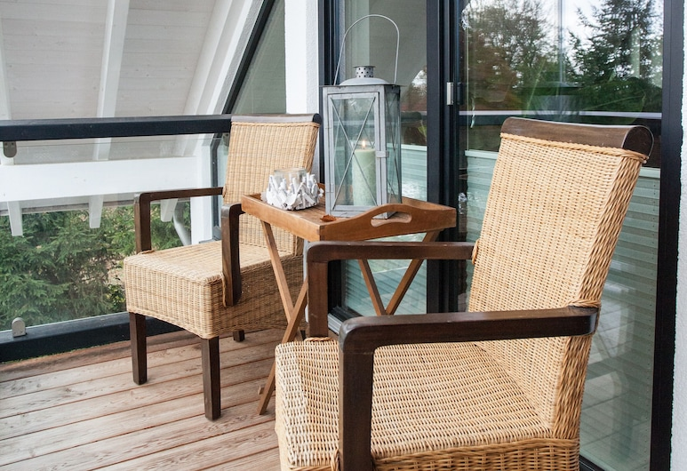 Immas Welt, Utting am Ammersee, Appartamento (Cleaning Fee 100€ to be paid up front), Balcone