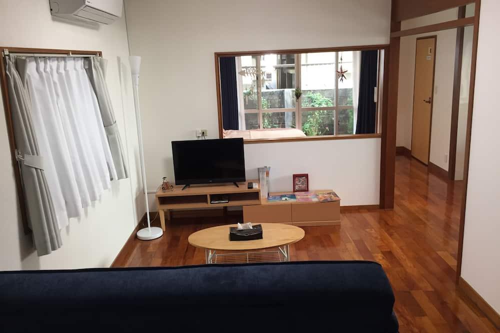 Casa Básica, 5 Quartos, Não-fumadores (Private Vacation Home) - Sala de Estar