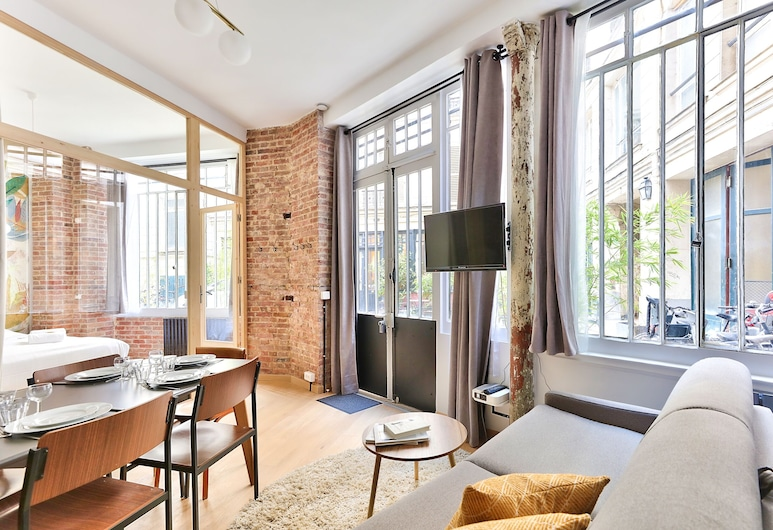 NEW Design Flat in the Heart of Paris - An Ecoloflat, Παρίσι, Superior Διαμέρισμα, Καθιστικό