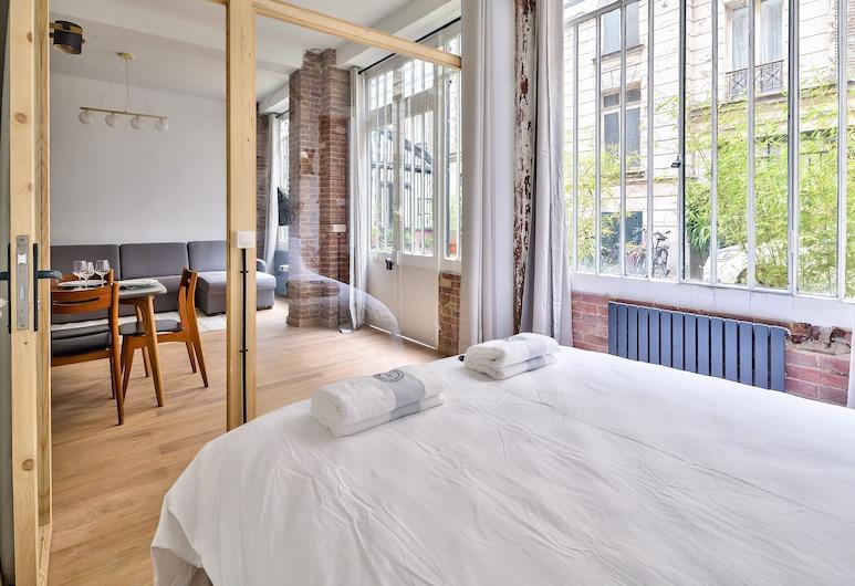 巴黎市中心新閣樓公寓酒店 - 生態公寓, 巴黎, 高級公寓, 客房
