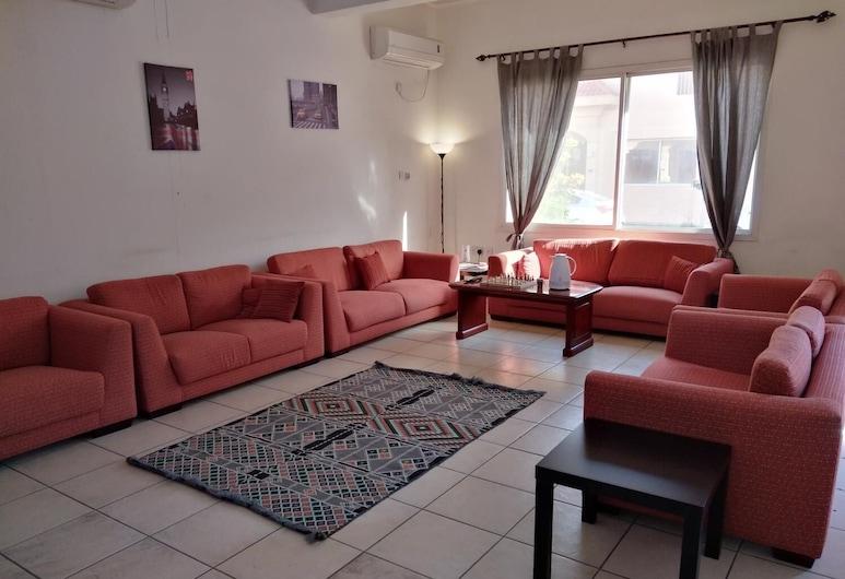 Q Hostel, Doha, Wohnzimmer