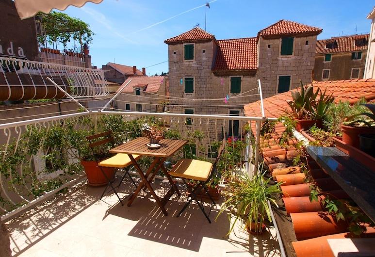 Apartments Gajeta, Split, Superior-Apartment, 1 Schlafzimmer, Balkon, Balkon