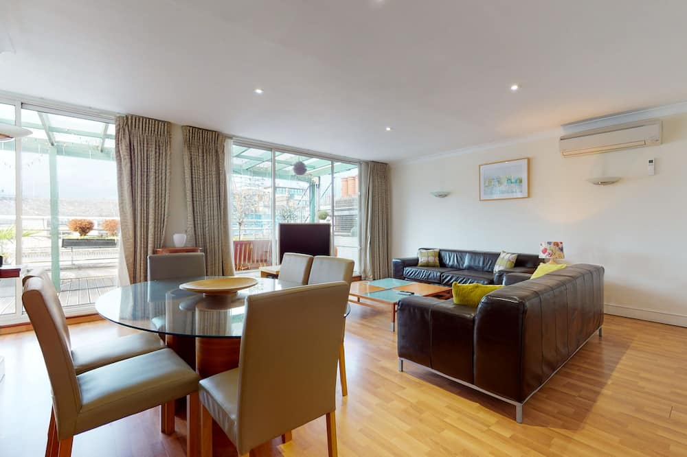 Apartament luksusowy typu Penthouse (Apartment 13, 5 persons) - Powierzchnia mieszkalna