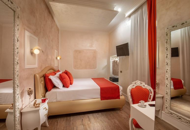 I FIUMI DI NAVONA, Rom, Superior Double Room (Gange), Bilik Tamu