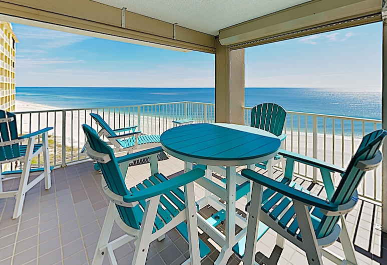 New Listing! Gulf-front W/ 3 Pools & Hot Tub 3 Bedroom Condo, Orange Beach, Condo, 3 Bedrooms, Balcony