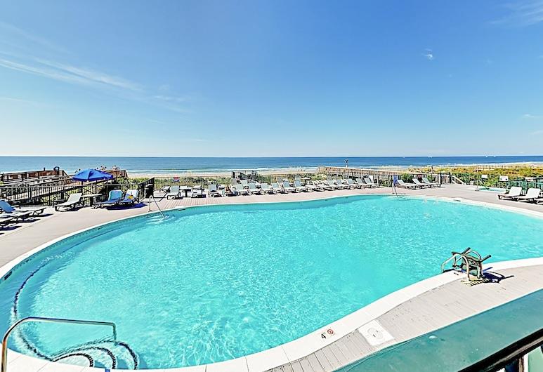 Crabby 5 to The Great Escape 4 Bedroom Condo, Ocean Isle Beach, Daire, 4 Yatak Odası, Havuz
