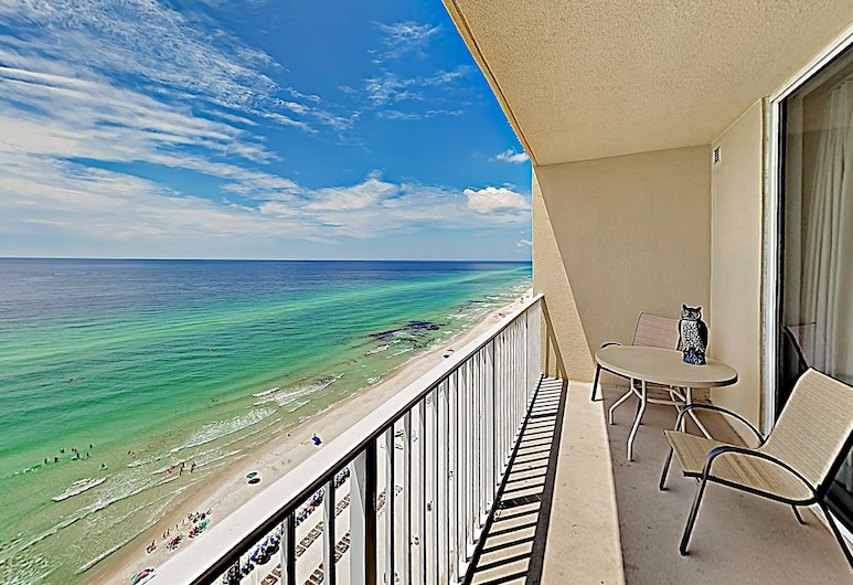 New Listing! Gulf-front W/ Epic Views, Pools 2 Bedroom Condo, Panama City Beach