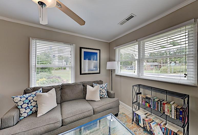 新刊登 - 棕櫚棕櫚旅館 - 近海灘 7 房之家 , 棕櫚島, 獨棟房屋, 多間臥室, 客廳