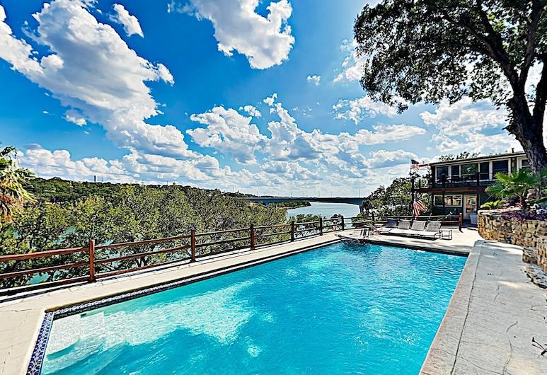 New Listing! Mid-century Modern Lake House W/ Pool 2 Bedroom Home, Marble Falls, Dom, 2 spálne, Bazén
