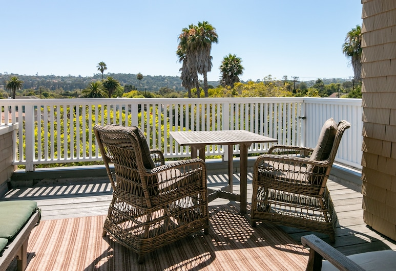 New Listing! The Penthouse Suite At De La Vina Inn Studio Bedroom Hotel Room, Santa Barbara, Room, Balcony