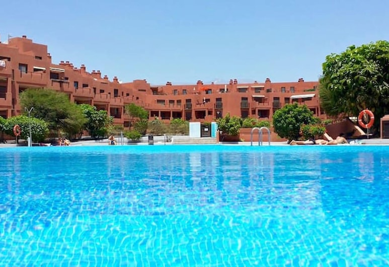 Apartment With one Bedroom in Granadilla, With Wonderful sea View, Shared Pool, Furnished Terrace, Granadilla de Abona, Basen