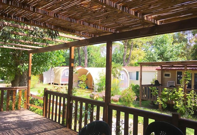 Camping Campo al Fico, Piombino, Mobile Home, Terrace/Patio
