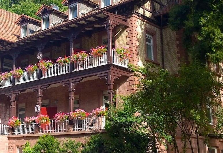 Hotel Luise, Bad Bergzabern, Hotellets facade