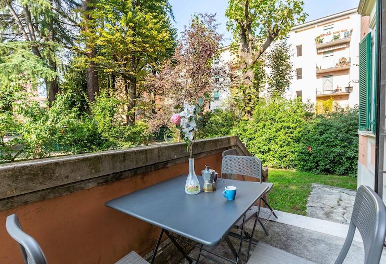 Angelelli 14, Bologna, Apartman, 2 spavaće sobe, Terasa/trijem
