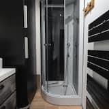 Deluxe-Apartment, mit Bad, Blick auf den Innenhof - Badezimmer