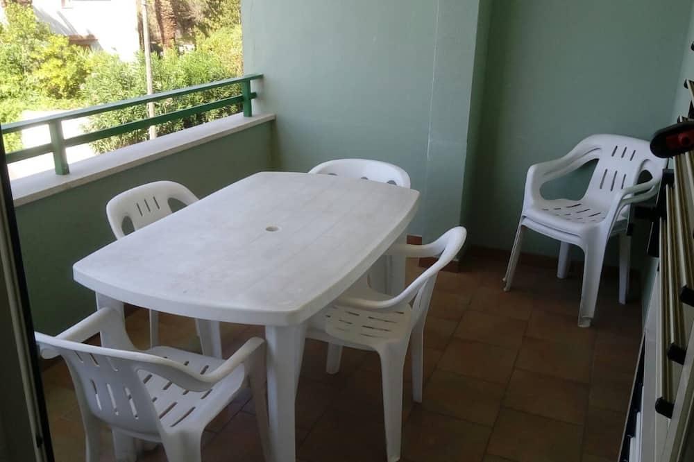 Appartement, 2 slaapkamers (Trilocale Baia Verde) - Balkon