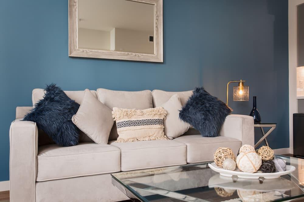 奢华公寓 - 起居区