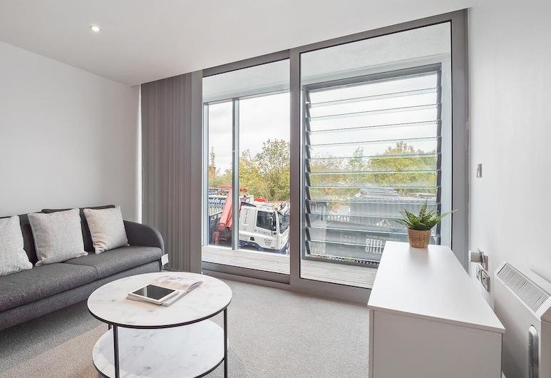 陽光寬敞 1 房公寓, Sheffield, 客廳