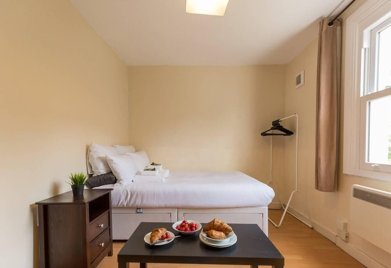 光線明亮 1 床開放式客房酒店 - 克拉珀姆路口附近, 倫敦