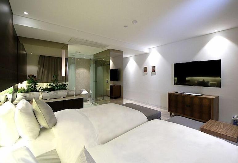 Golden Hotel Incheon, Incheon, Standard Twin Room, Guest Room