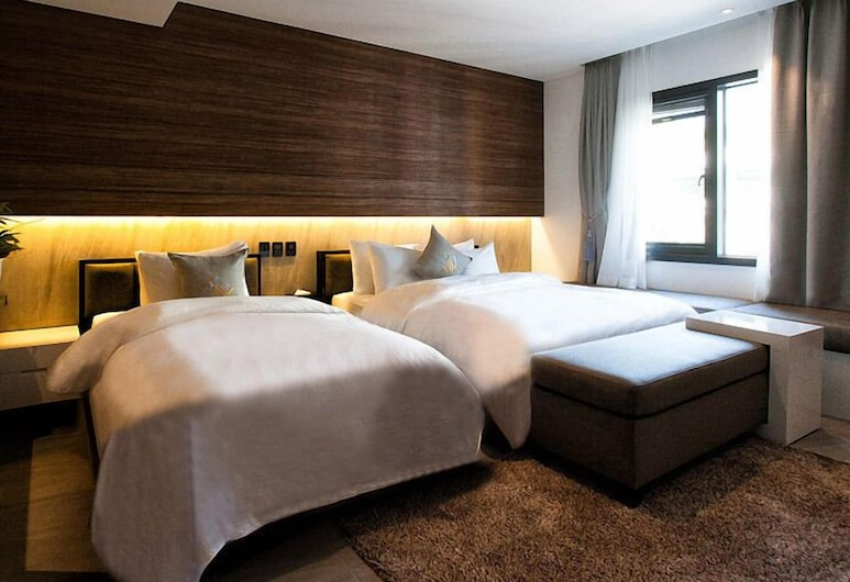 Golden Hotel Incheon, Incheon, Chambre Deluxe avec lits jumeaux, Chambre