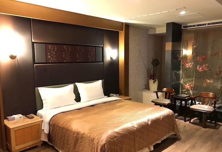 楓采汽車旅館, 台中市, 舒適雙人房, 客房