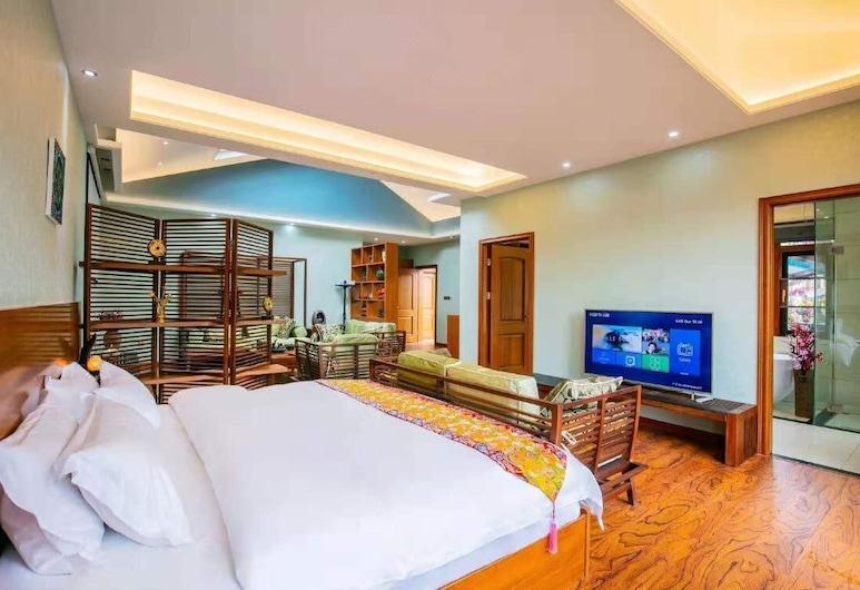 Karma Hotel, Te-čchin, Luxusní pokoj s dvojlůžkem, Pokoj