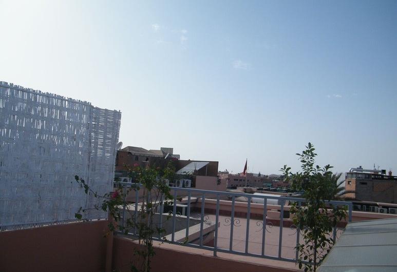 Hostel Mondial, Marrakech, Taras/patio
