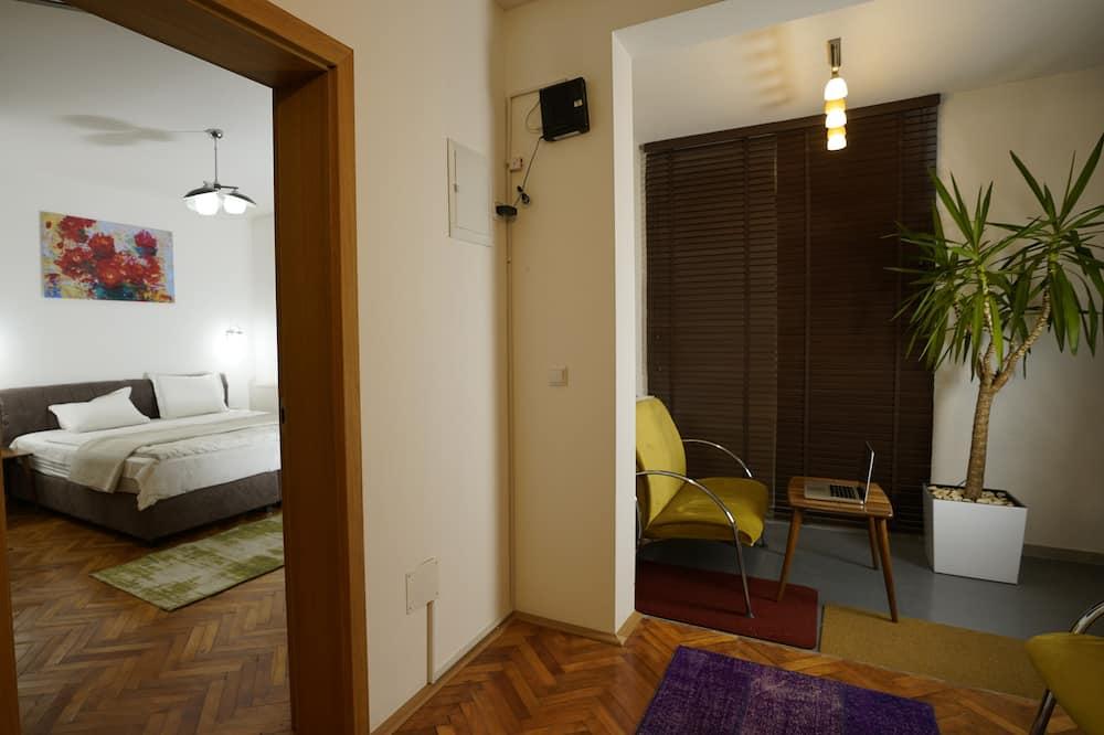 Δίκλινο Δωμάτιο (Double) - Περιοχή καθιστικού