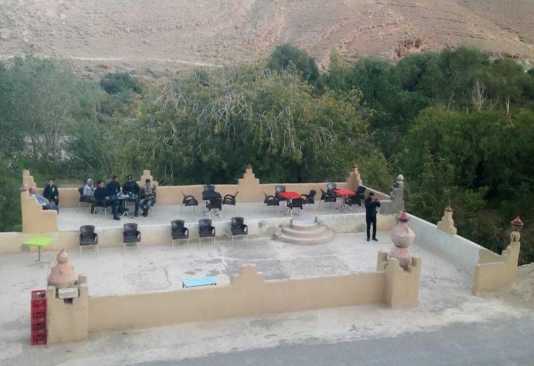 Ksar Amouguer , Amouguer, Terraza o patio