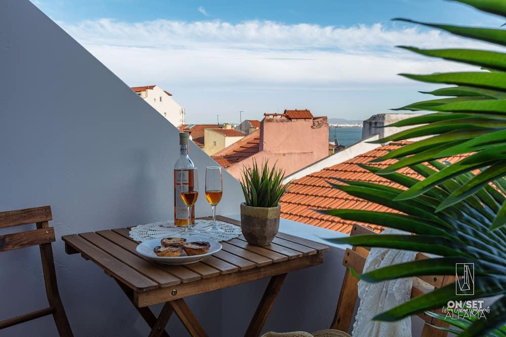 Panoramski apartman, 1 spavaća soba - Balkon