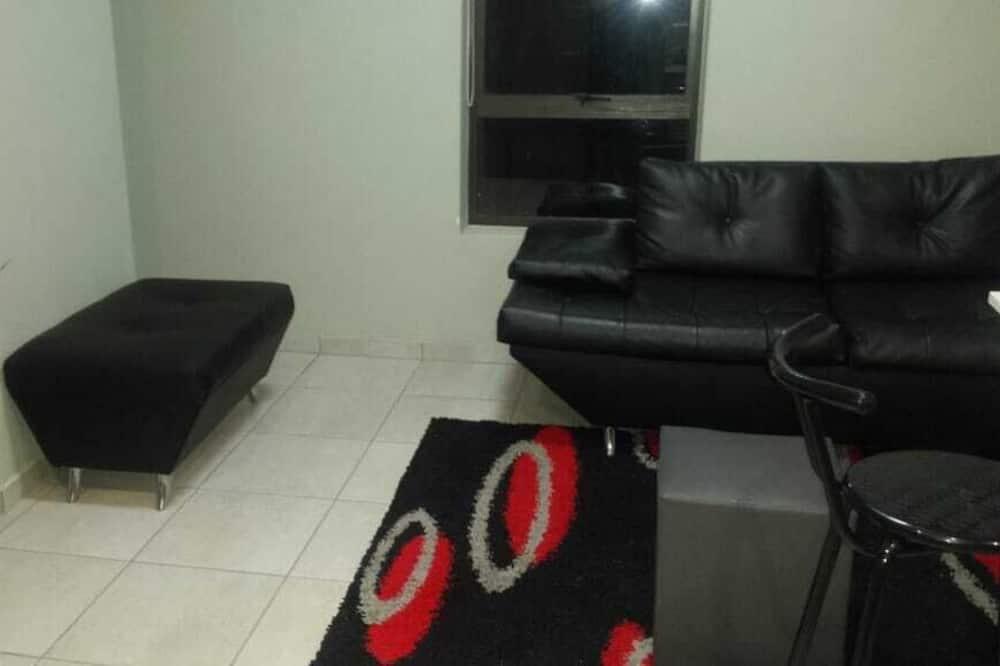 舒適公寓, 1 張標準雙人床 - 客廳