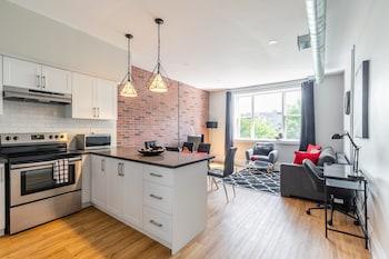 Bilde av Simply Comfort. King St Apartments i Hamilton