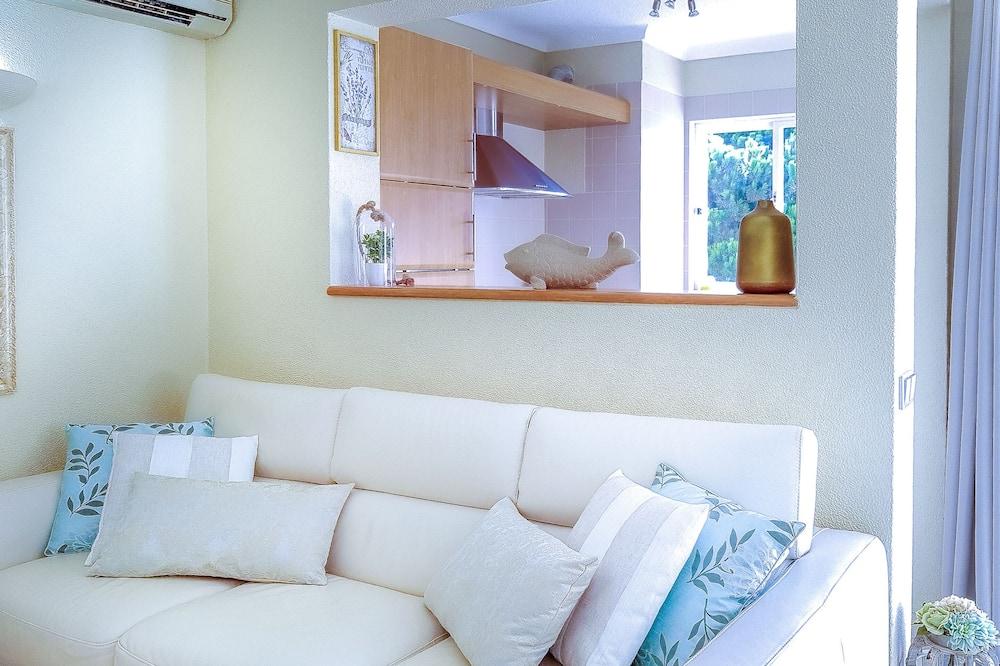 Apartmán typu Superior, 1 spálňa, výhľad na záhradu - Obývacie priestory