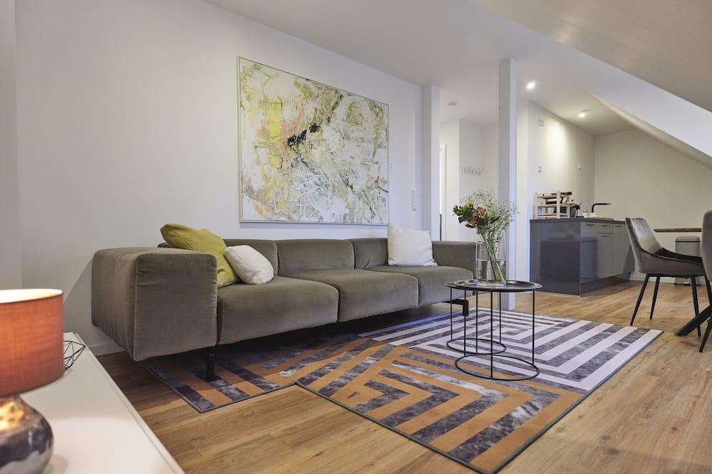Attic Loft - Living Room
