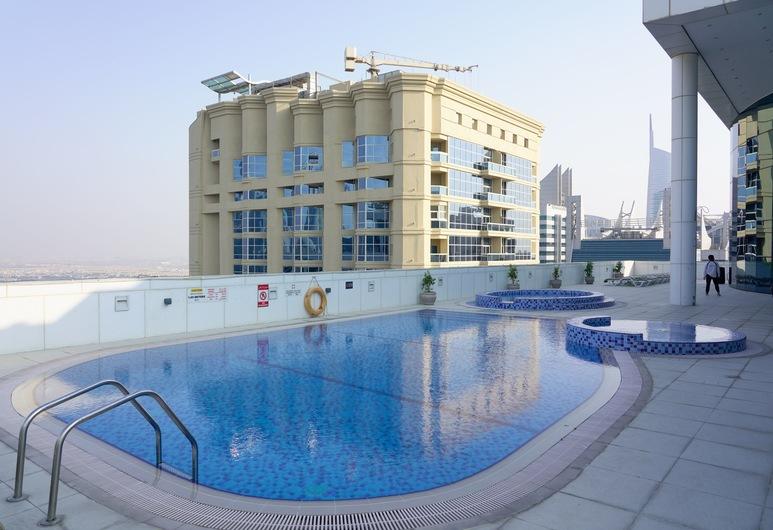 One Perfect Stay - Saba Tower, Dubai, Udendørs pool