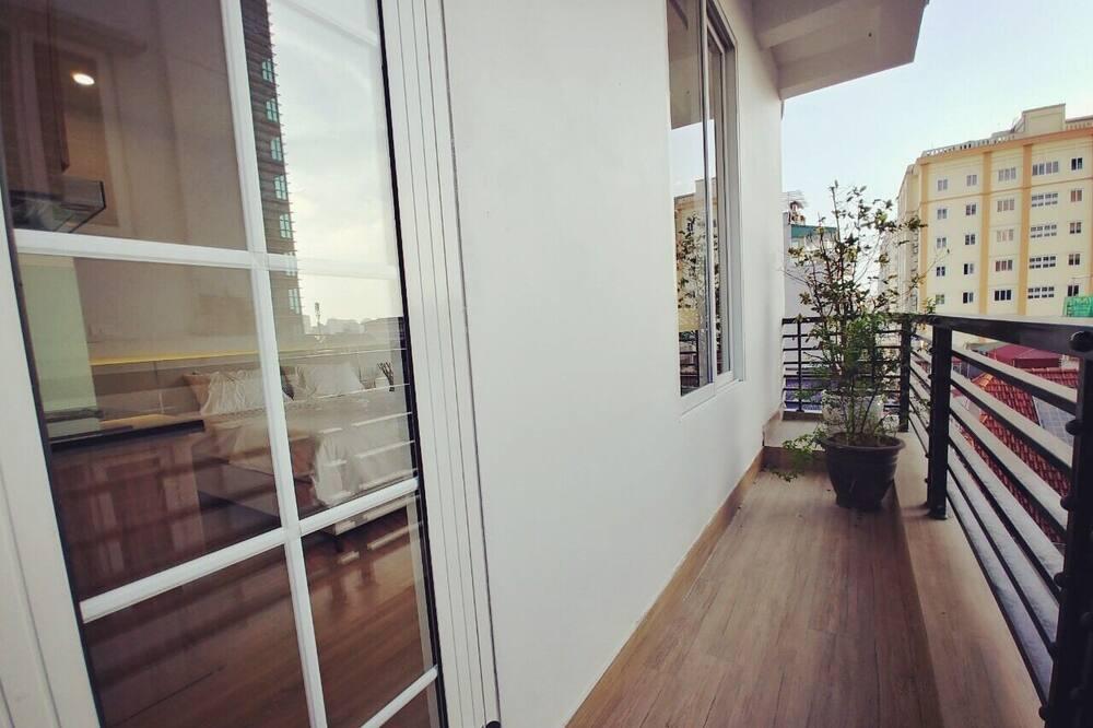 Monolocale, 1 camera da letto - Balcone
