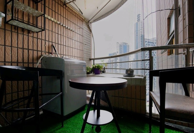 Four Seasons Window View Apartment, Shenzhen, Family Apartment, 3 Bedrooms, Balcony