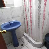 Comfort-Zimmer, 1 Queen-Bett - Badezimmer